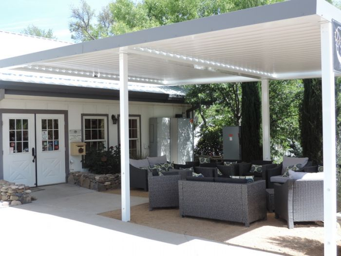 Equinox Louvered Roof Sample